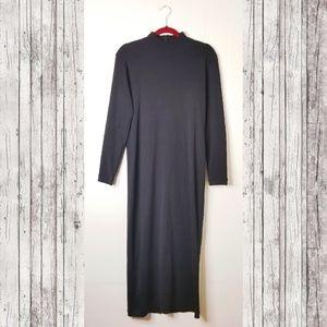 Maggy London Mock Turtleneck Sweater Bodycon Dress